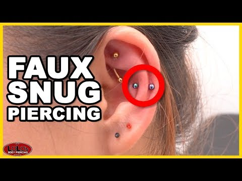 The Faux Snug Piercing Youtube