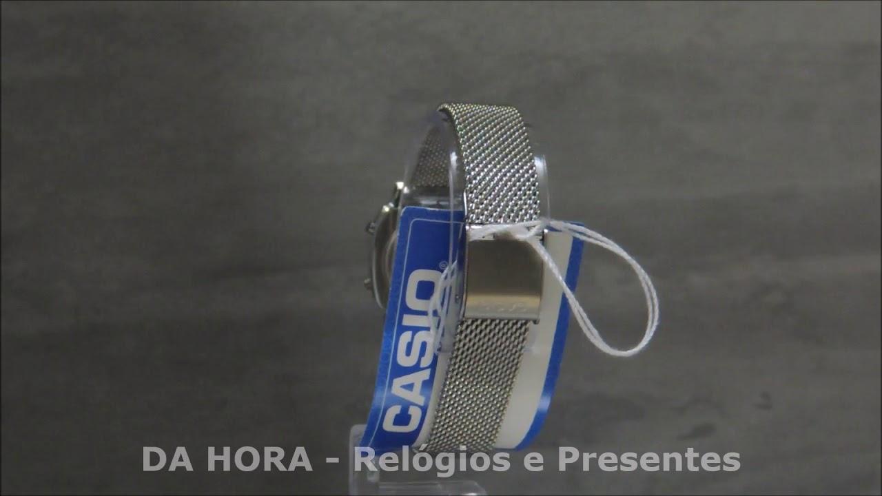 609759a396c Relógio Casio Vintage Mini LA670WEM-7DF - DA Hora - Relógios e Presentes