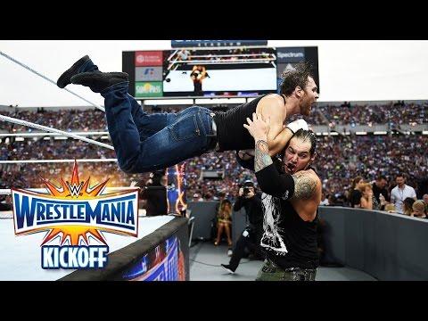 Dean Ambrose vs. Baron Corbin - Intercontinental Title Match: WrestleMania 33 Kickoff