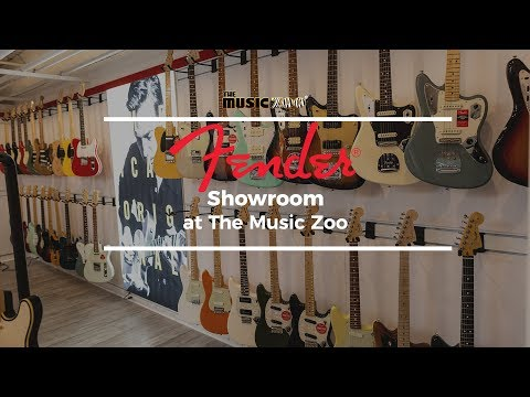 The Fender Showroom at The Music Zoo