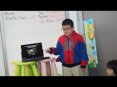 TSRC Public Speaking August 2017 - Caleb Lee (Courageous LC)