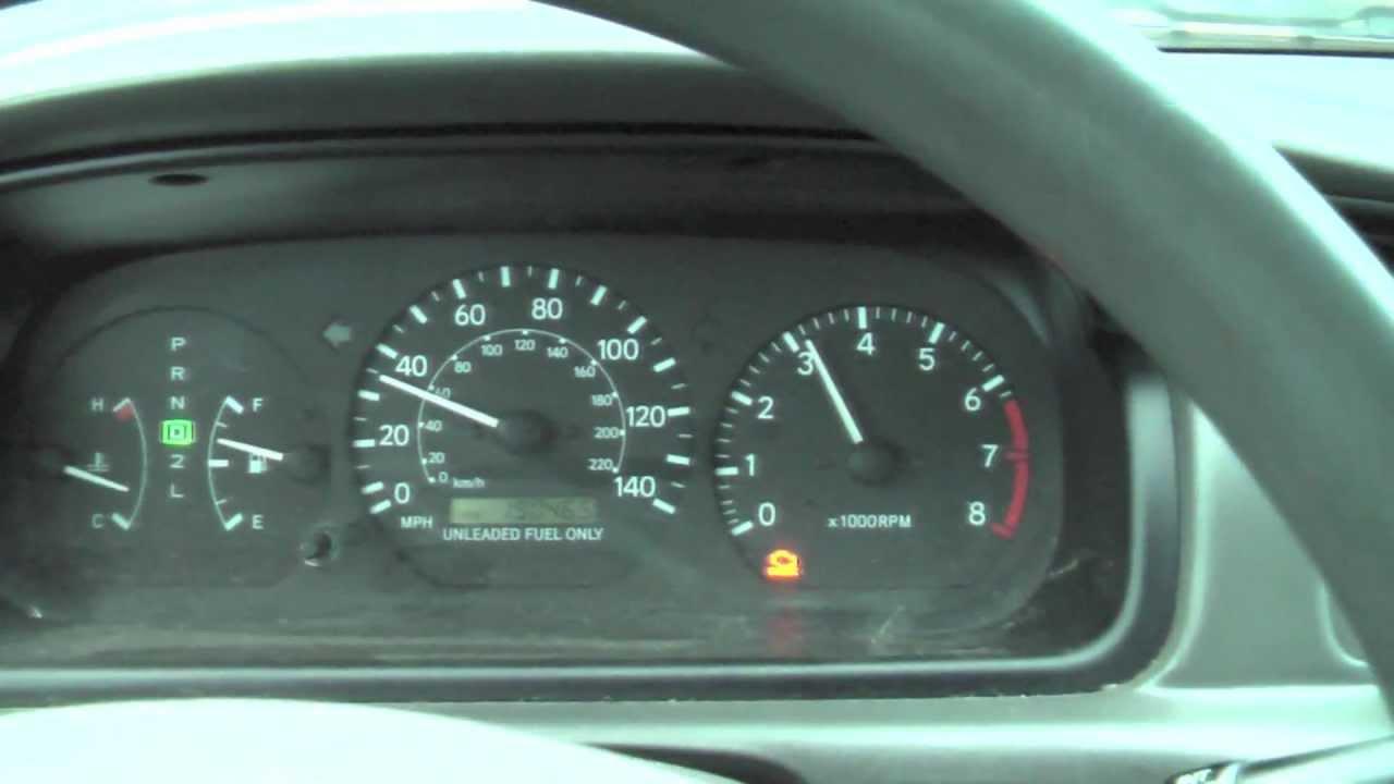 1998 Toyota Camry Check Engine Light Reset Centralroots Com