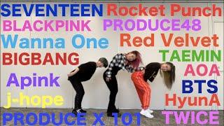 K-POP ランダムダンスチャレンジしてみた!Part.4 Video