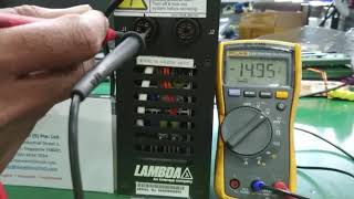 LAMBDA VA 2239 Power Supply Repairs by Dynamics Circuit (S) Pte. Ltd.