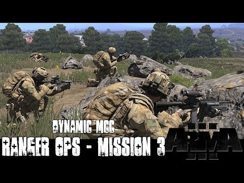 Dynamic Ranger Ops Mission 3 - ArmA 3 Large Scale Co-op Gameplay