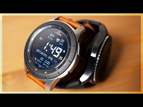 Samsung Galaxy Watch vs Gear S3