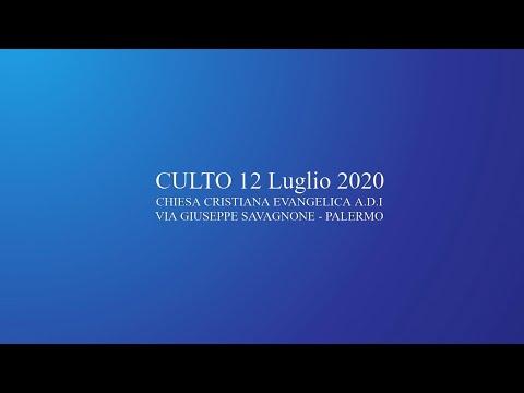 Culto 12 07 2020