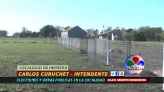 CARLOS CURUCHET ELECCIONES Y OBRAS PUBLICAS EN HERRERA 19 DE OCTUBRE 2015