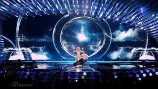 Eurovisión 2015 - Edurne canta
