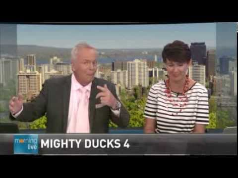 News Anchor swears Mighty Ducks (F*cks) CHCH Morning Live TV