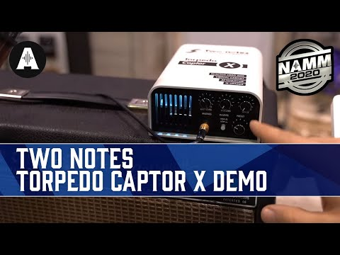 Rabea & Pete Check Out the Two Notes Torpedo Captor X! - NAMM 2020