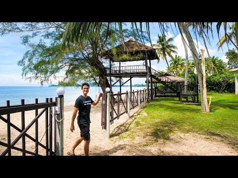 Thailand Beach House Tour -  FAMILY VACATION in Rayong, Thailand!
