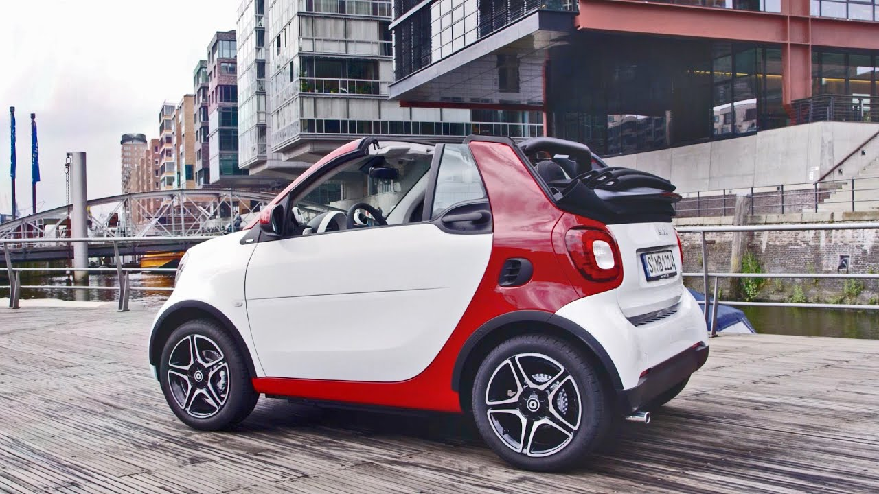 New 2016 Smart Fortwo Cabriolet Official Trailer