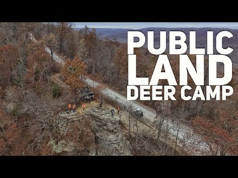 Public Land Deer Camp In The Mountains Of Arkansas S8 #53