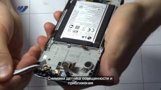 Ремонт LG G2 (Замена экрана в сборе с сенсорным стеклом)