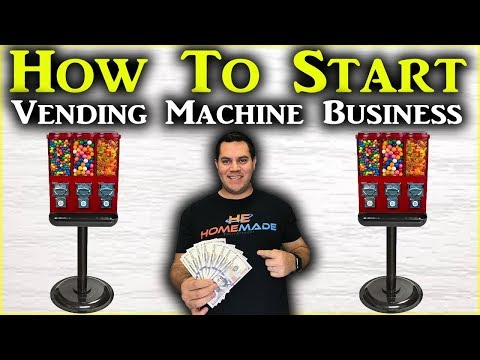 How To Start A Vending Machine Business (Passive Income 2019)