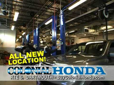 All New Colonial Honda Of Dartmouth Grand Opening New Facility