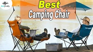 Best Camping Chair In 2020 – Be More Comfortable While Camping!