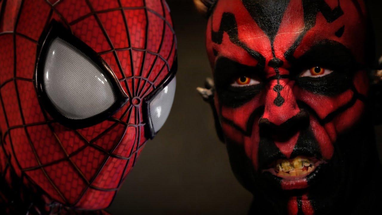 Spider Man Vs Darth Maul Super Power Beat Down Episode