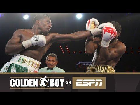 Golden Boy On ESPN: Rashidi Ellis vs Alberto Mosquera (FULL FIGHT)