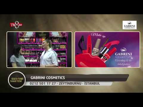 Gabrini Cosmetics Beauty Eurasia Exhibition