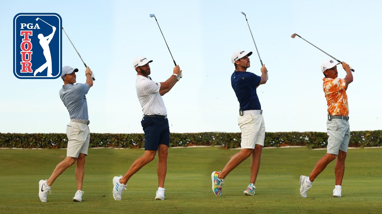 McIlroy, DJ, Fowler and Wolff range session at TaylorMade Driving Relief