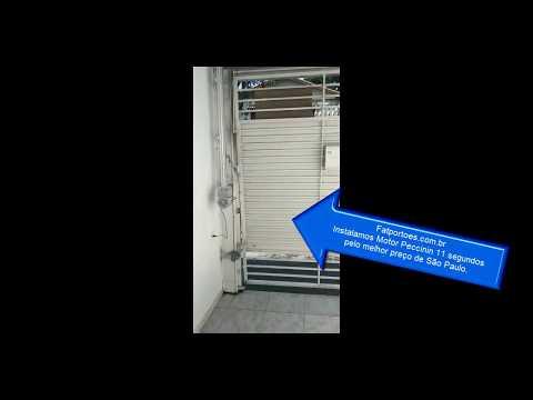 Motor para portão basculante - Youtube