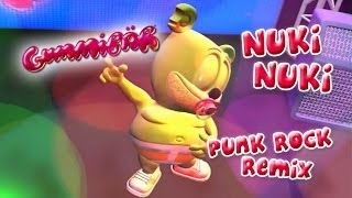 Nuki Nuki (The Nuki Song) Punk Version Gummy Bear