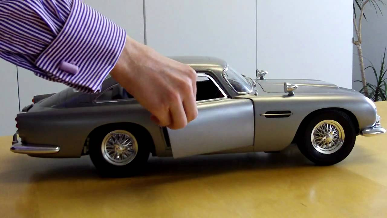 DB Model Preview YouTube - Build your own aston martin