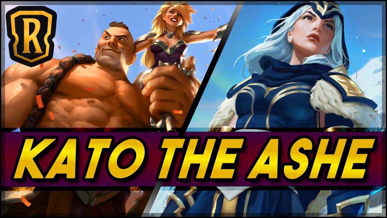 Kato The Ashe (Sejuani/Ashe Deck) | Season of Fortune | LoR Game | Legends of Runeterra