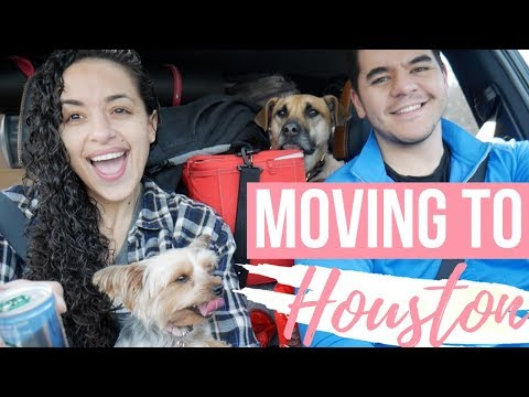 MOVING TO HOUSTON: 4 DAY ROAD TRIP!