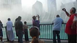 Rozel-Dubai Water Fountain Show Arabic Music (Burj Khalifa and Rozel-2012)