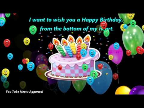 Happy Birthday Wishes With BlessingsPrayers MessagesQuotesMusic And Beautiful Pictures