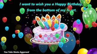 Happy Birthday Wishes With Blessings,Prayers, Messages,Quotes,Music ''and'' Beautiful Pictures