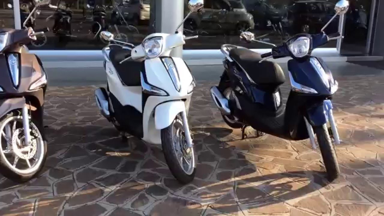 piaggio liberty 125 e 150 i get abs youtube. Black Bedroom Furniture Sets. Home Design Ideas