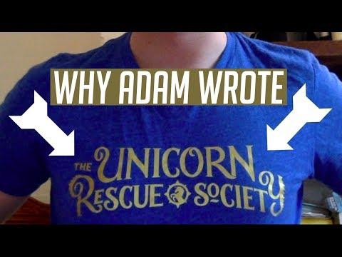 Why Adam Gidwitz Wrote The Unicorn Rescue Society