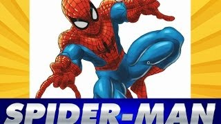 COMO DIBUJAR A SPIDERMAN / How to draw Spiderman