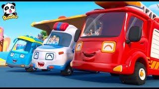 はたらく車のうた | 消防車のうた | のりものの歌 | はたらく車 | 赤ちゃんが喜ぶ歌 | 子供の歌 | 童謡  | アニメ | 動画 | BabyBus