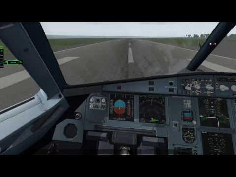 X-Plane 11 - Bristol International to Liverpool (Airbus A320)