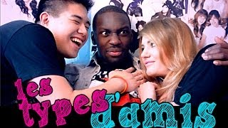 Les Différents types d'Amis - Andy streaming
