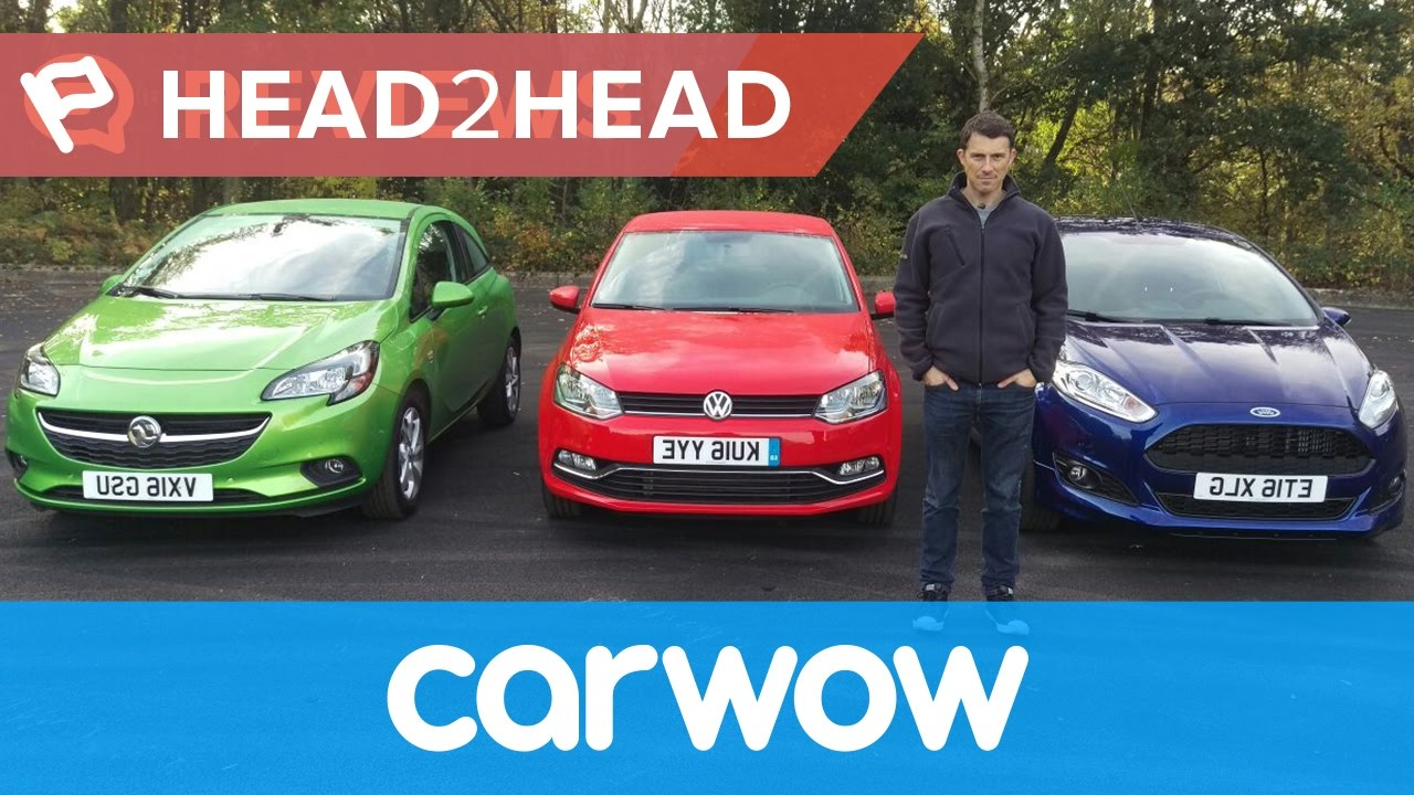 Ford Fiesta Vs Volkswagen Polo Vs Vauxhall Corsa 2016 Review