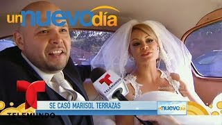 Todos los detalles del casamiento de Marisol Terrazas y José Lechuga | Un Nuevo Día | Telemundo