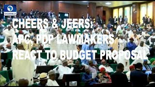 Cheers & Jeers As Buhari Presents 2019 Budget At NASS