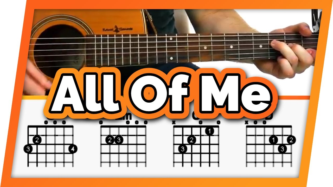 All Of Me Free Beginner Guitar Tutorial Lesson Easy Guitar