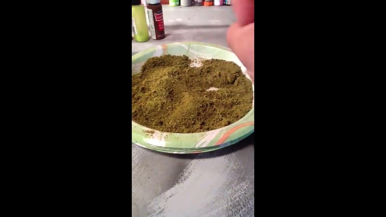 how to make fake spanish moss