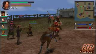 Dynasty Warriors Vol. 2 - Battle of Jiang Ling | Wu Musou Mode