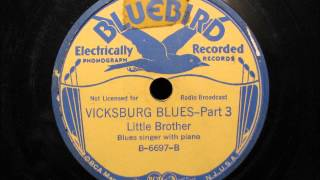 VICKSBURG BLUES by Little Brother Montgomery 1936