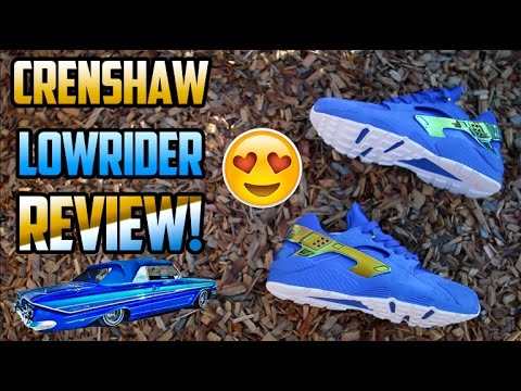 1477779f9b624 UNDFTD X NIKE AIR HUARACHE  CRENSHAW LOWRIDER  REVIEW + ON FEET ...