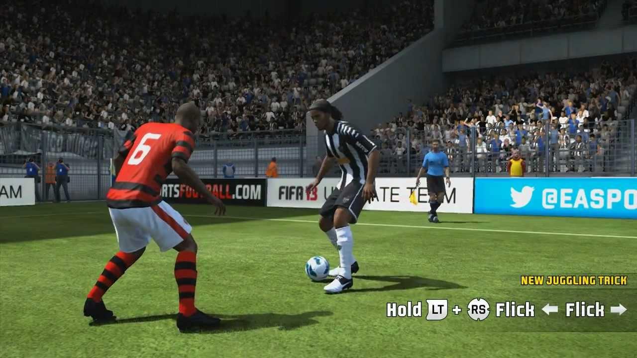 """Fifa 13 """"new skills"""" tutorial (ps3) youtube."""
