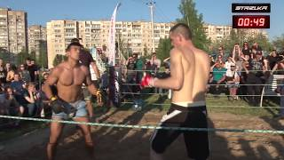 Russian Soldier vs Mexican fighter !!! MMA !!